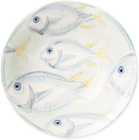 Jeffrey Bannon Exclusives   Pescatore Large Serving Bowl $176.00