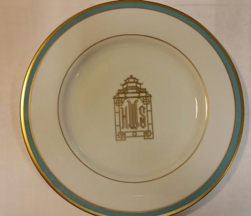 Jeffrey Bannon Exclusives   Pickard Pagoda salad Plate $110.00