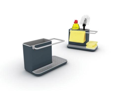 $15.00 Caddy™ - Sink Organizer - Dark Grey/Grey