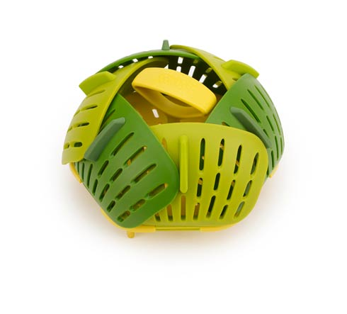 $10.00 Bloom Folding Steamer Basket - Green