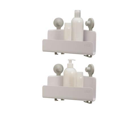 $40.00 EasyStore Corner Shower Caddy 2-pack (No Mirror)  - White