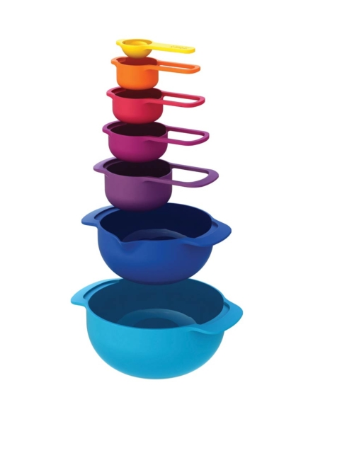 Joseph Joseph  Food Preparation Nest™ 7 Plus (7 Piece Multi Coloured Set) $30.00