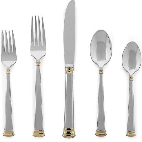 Lenox  Eternal Gold Stainless 5 Pc. Place Setting $56.00