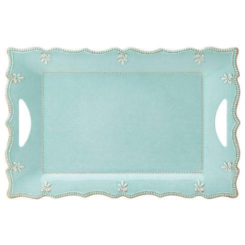 $36.55 Melamine Aqua Platter