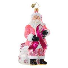 $56.00 Breast Cancer Santa