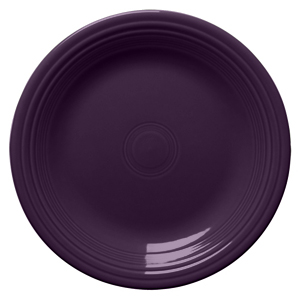 Plum Dinner Plate