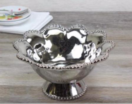 Pampa Bay   Verona Porcelain Footed Bowl $37.50