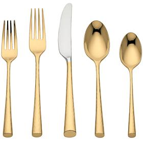 Gold 5 Pc. Place Setting