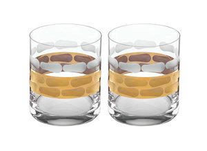 Michael Wainwright   Truro Gold Double Old Fashioned Pair $80.00
