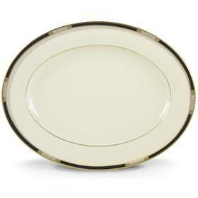 Lenox  Hancock Oval Platter 13