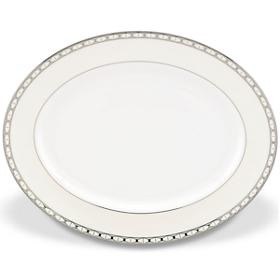 Kate Spade  Signature Spade Oval Platter $210.00