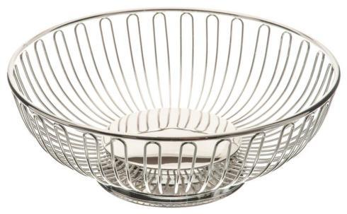 Jimmy Smith Exclusives  Housewares Round Silverplate Wire Basket $25.00