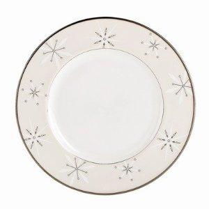 Lenox  Federal Platinum Snowflake Accent Plate $40.00