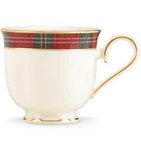 Lenox  Winter Greetings Plaid Tea Cup $56.00