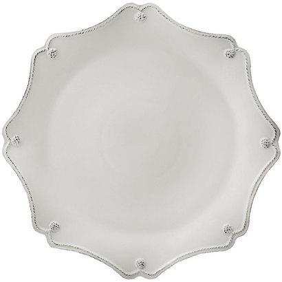 Juliska Berry & Thread Whitewash Scallop Charger Plate $72.00