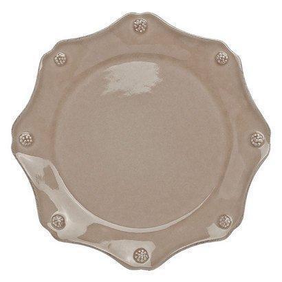 Juliska  Cappuccino Brown Scallop Dessert Plate $38.00