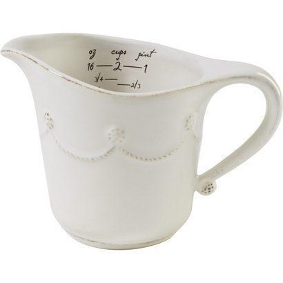 Juliska  Whitewash Measuring Cup $42.00