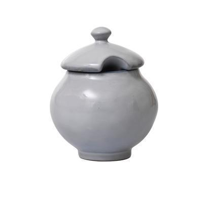 $34.00 White Truffle Lidded Sugar Bowl