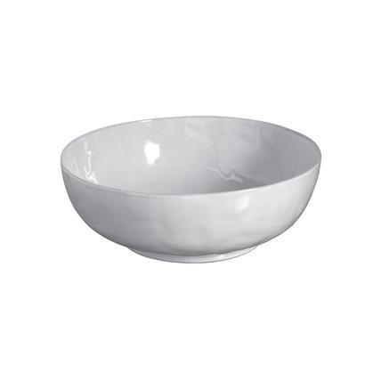 "$198.00 White Truffle 14"" Serving Bowl"