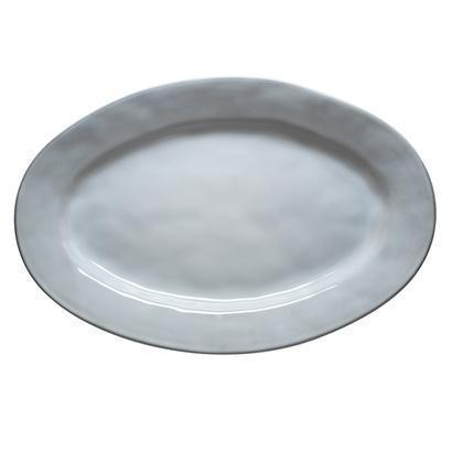 "Juliska  Quotidien White Truffle 15"" Oval Platter $88.00"