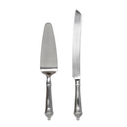 Juliska Berry and Thread Flatware Cake Knife & Server Set Bright Satin $130.99