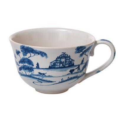 Juliska Country Estate Delft Blue Tea/Coffee Cup Garden Follies $38.00