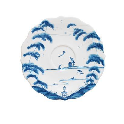 Juliska Country Estate Delft Blue Saucer Garden Follies $28.00