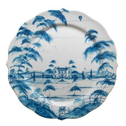 Juliska Country Estate Delft Blue Charger Plate Main House $98.00