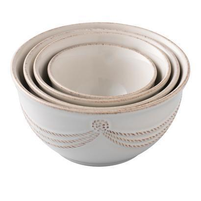 Juliska Berry and Thread Whitewash Nesting Prep Bowl Set/4 $74.99