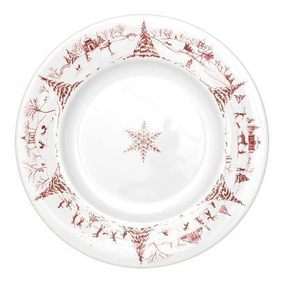 Juliska Country Estate Winter Frolic Ruby Dinner $52.00