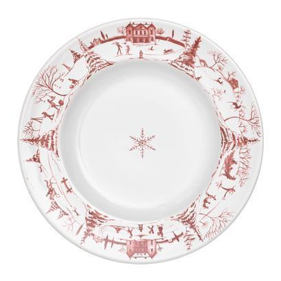 Juliska Country Estate Winter Frolic Ruby Dessert/Salad Plate Winter Frolic $44.00