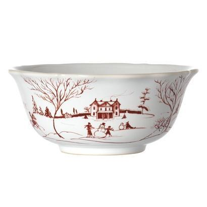 Juliska  Country Estate Winter Frolic Cereal/Ice Cream Bowl $46.00