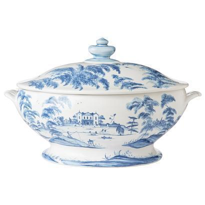 Juliska Country Estate Delft Blue Tureen Main House $438.00