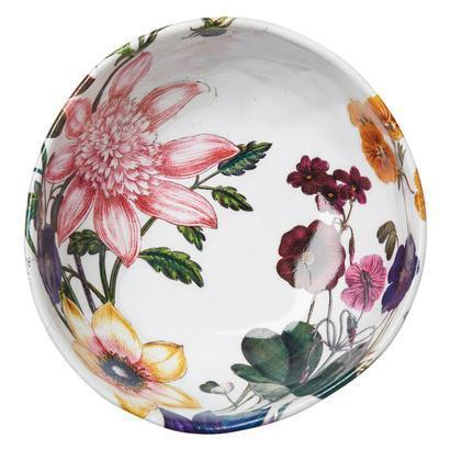 Juliska  Field of Flowers Berry Bowl Dahlias White Truffle $38.00