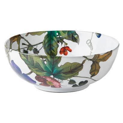 Juliska  Field of Flowers Medium Serving Bowl Anemone Vine White Truffle $105.00
