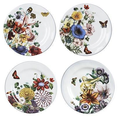 Juliska  Field of Flowers Set of 4 Party Plates $108.00