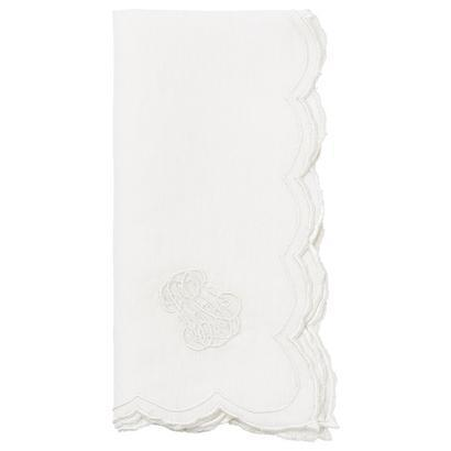 Juliska Linens Napkins Heirloom Whitewash Napkin $30.00