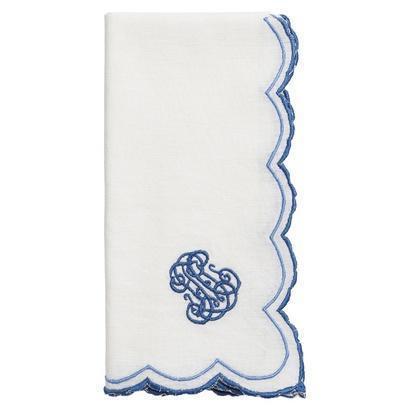 Juliska  Napkins Heirloom Whitewash/Delft Blue Napkin $30.00