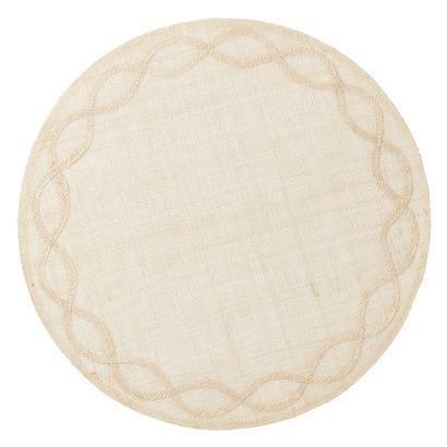 $18.00 Tuileries Garden Natural Placemat