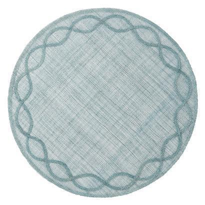 $18.00 Tuileries Garden Ice Blue Placemat
