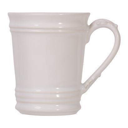 Juliska  Acanthus Whitewash Mug $32.00