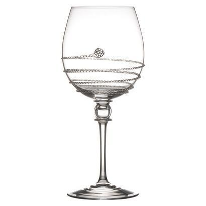 Full Body White Wine Glass