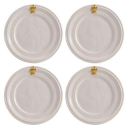 Cocktail Plate Set/4 <br>(2 in stock)