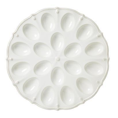 Juliska Berry & Thread Whitewash Deviled Egg Platter $78.00