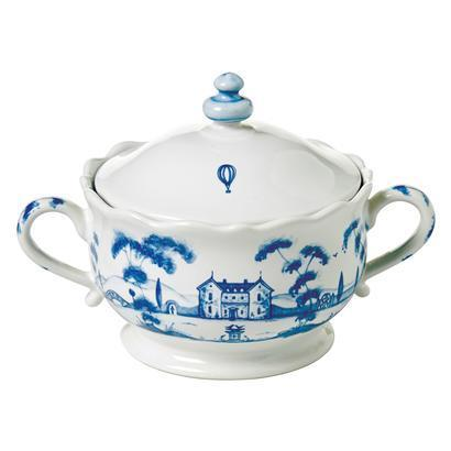 Juliska Country Estate Delft Blue Sugar Pot Main House $72.00