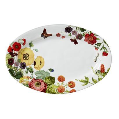 "Juliska  Field of Flowers Oriental Poppy 15"" Platter $98.00"