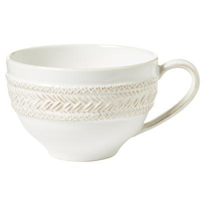 Juliska Le Panier Whitewash Tea/Coffee Cup $25.00