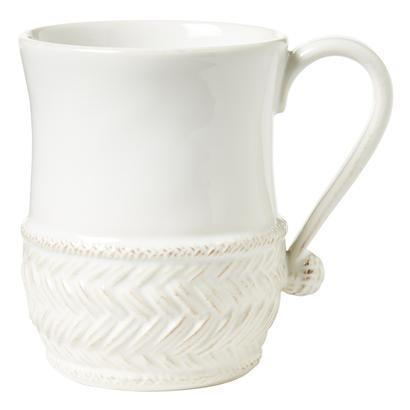 Juliska Le Panier Whitewash Mug $30.00