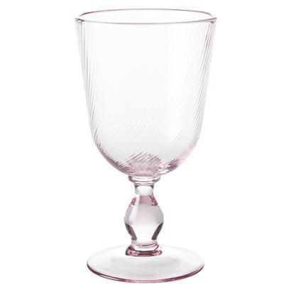 Juliska  Petal Pink Footed Goblet $39.00