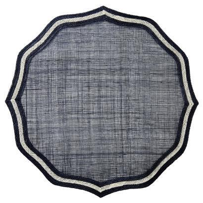 Juliska  Placemats Scallop Navy Blue Placemat $15.00